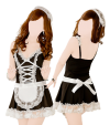 Maid outfit (dress, g-string, headband)