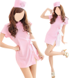 Nurse outfit (dress, g-string, cap)