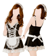 Maid's outfit (dress, thong, headband)
