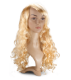 P1: Long wavy blond hair